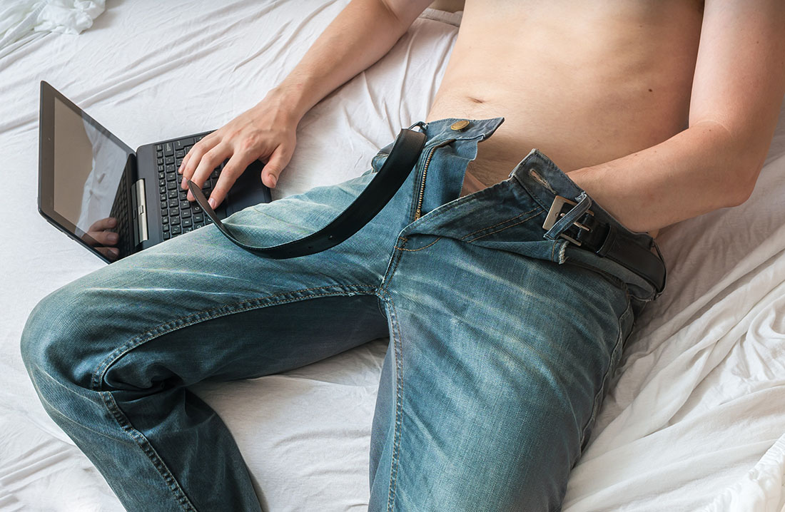 рука в штанах парень